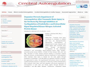 Cerebral AutoRegulation Network